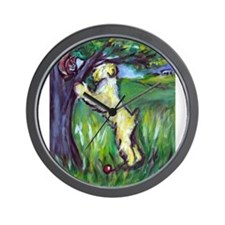 Wheatie Squirrel Chaser Wall Clock