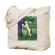 Wheatie Squirrel Chaser Tote Bag