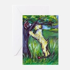 Wheatie Squirrel Chaser Greeting Cards (Pk of 10)