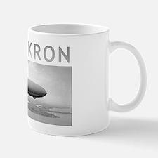 USS Akron Airship Mug