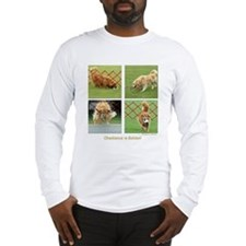 Golden Retriever Obedience Long Sleeve T-Shirt