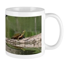 Turtle Sunning, Mug