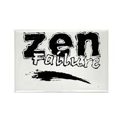 Zen Failure Rectangle Magnet
