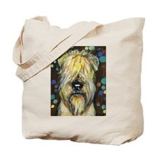 Portrait of a wheatie brown Tote Bag