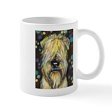 Portrait of a wheatie brown Mug