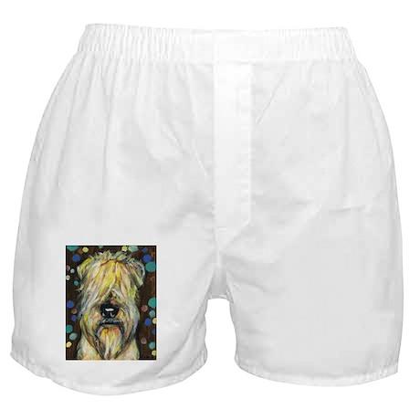 Portrait of a wheatie brown Boxer Shorts