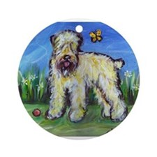 Wheatie eyes butterfly Ornament (Round)