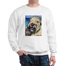 Laughing wheatie portrait Sweatshirt