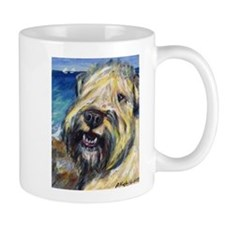Laughing wheatie portrait Mug