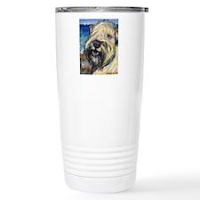 Laughing wheatie portrait Travel Mug