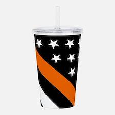 U.S. Flag: The Thin Or Acrylic Double-wall Tumbler