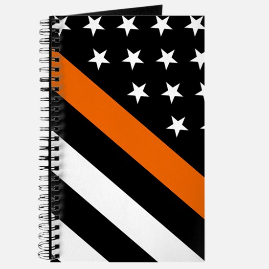 U.S. Flag: The Thin Orange Line Journal