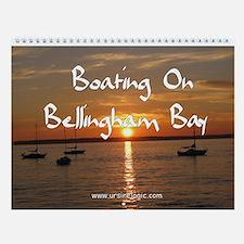 Boating On Bellingham Bay Wall Calendar