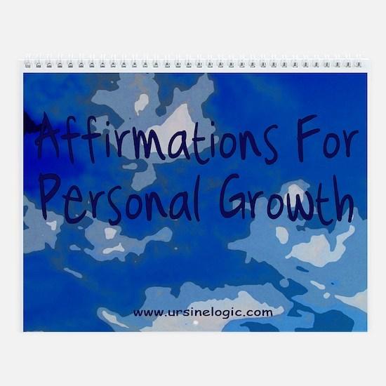 Growth Affirmations Wall Calendar