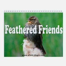 Feathered Friends Wall Calendar