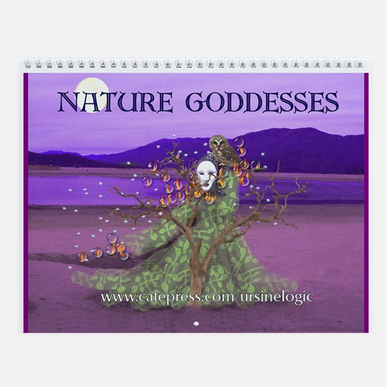 Nature Goddesses Wall Calendar