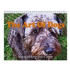Art of Dogs Wall Calendar
