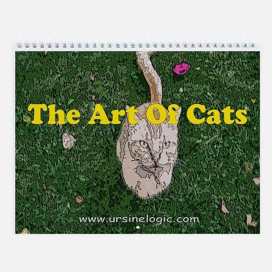 The Art of Cats Wall Calendar