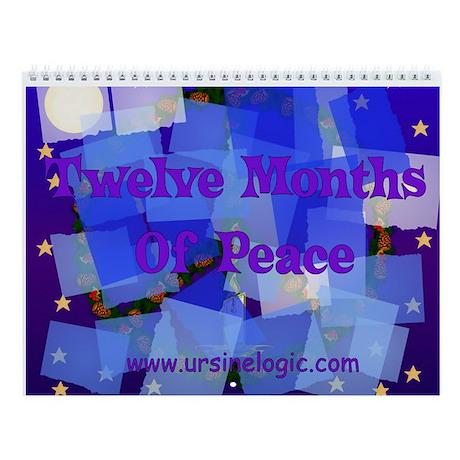 Peace Signs Wall Calendar