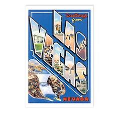 Las Vegas Nevada NV Postcards (Package of 8)