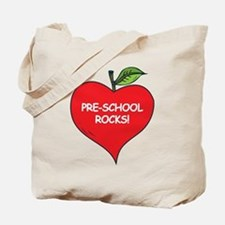 Pre-School Rocks Tote Bag
