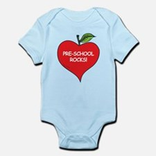 Pre-School Rocks Infant Bodysuit