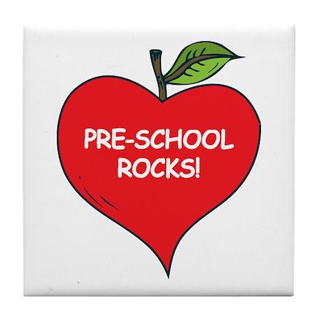 Pre-School Rocks Tile Coaster