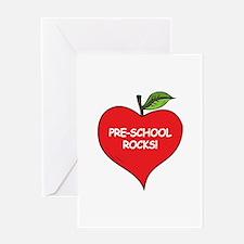 Pre-School Rocks Greeting Card