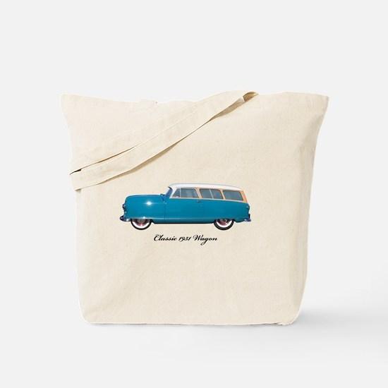 1951 Nash Wagon Tote Bag
