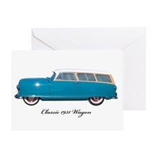1951 Nash Wagon Greeting Card