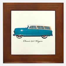 1951 Nash Wagon Framed Tile