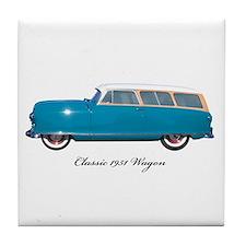1951 Nash Wagon Tile Coaster