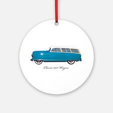 1951 Nash Wagon Ornament (Round)