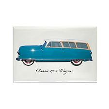 1951 Nash Wagon Rectangle Magnet