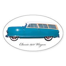 1951 Nash Wagon Oval Decal