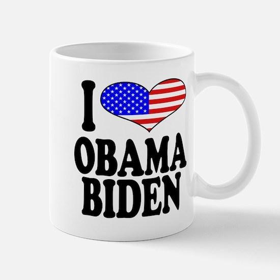 I Love Obama/Biden Mug