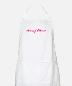 Army Mom- Girly Style BBQ Apron
