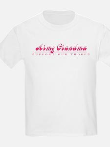 Army Grandma - Girly Style T-Shirt