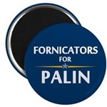 """Fornicators for Palin 2.25"""" Magnet (10 pack)"""