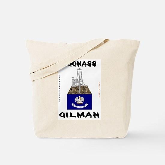 Coonass Oilman Tote Bag