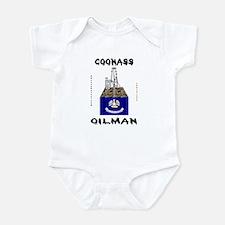 Coonass Oilman Infant Bodysuit