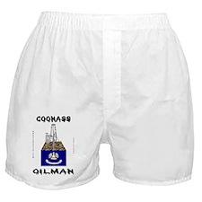 Coonass Oilman Boxer Shorts
