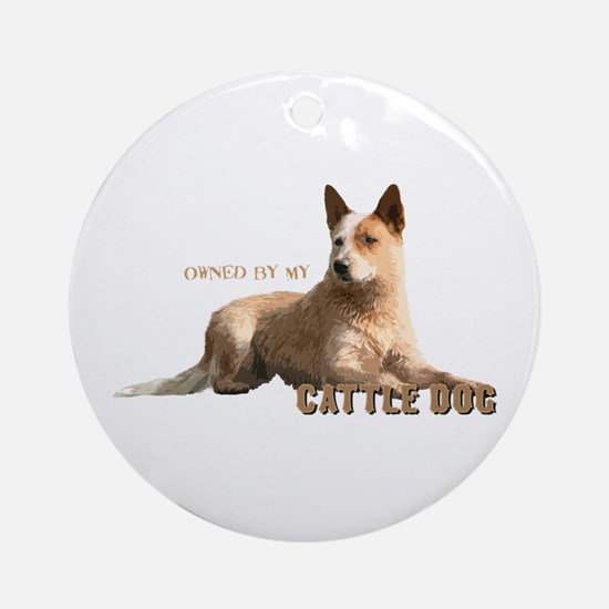Cattle Dog Ornament (Round)