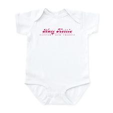 Navy Hottie - Girly Style Infant Bodysuit