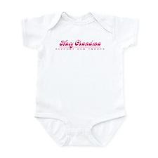 Navy Grandma - Girly Style Infant Bodysuit