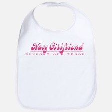 Navy Girlfriend - Girly Style Bib