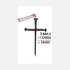 Salvation Math Rectangle Decal