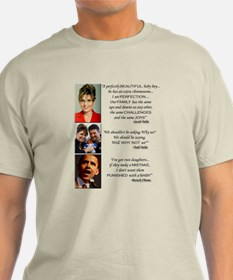 Quotes on Value of Life - T-Shirt
