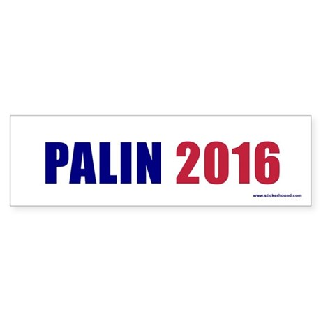 PALIN 2016 Bumper Sticker