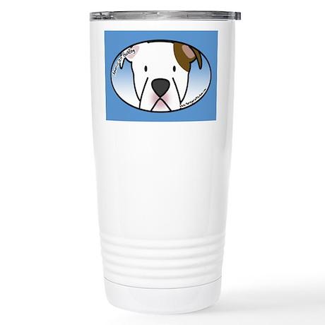 Anime American Bulldog Stainless Steel Travel Mug